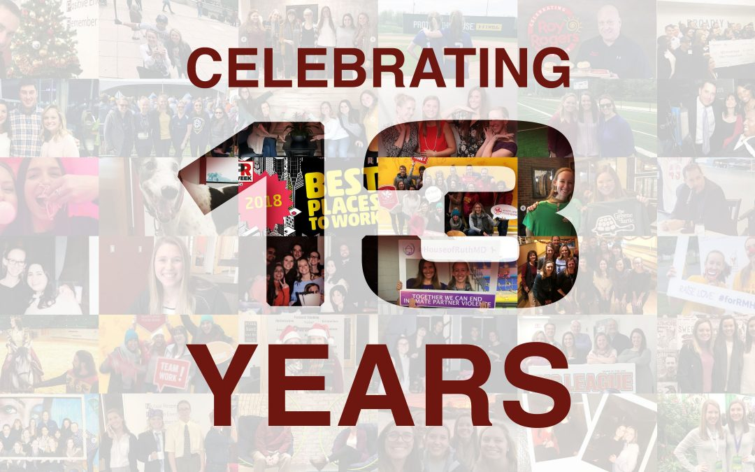 Maroon PR Celebrates 13 Years