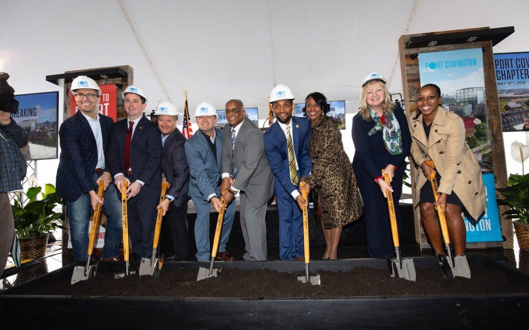 Media Success for Port Covington Groundbreaking Event
