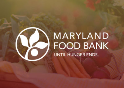 Maryland Food Bank Digital Campaign