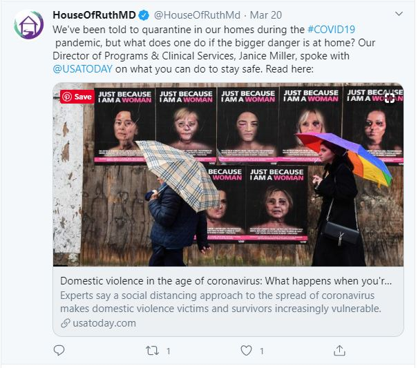 House of Ruth USA Today tweet