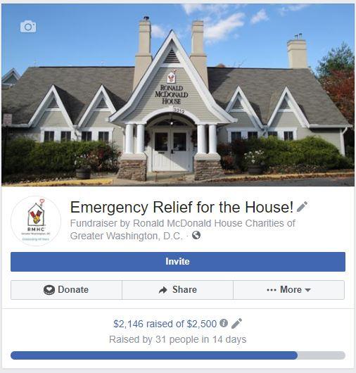 RMCHDC FB Fundraiser