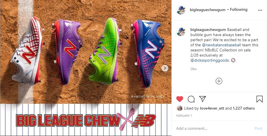 New Balance Annoucement