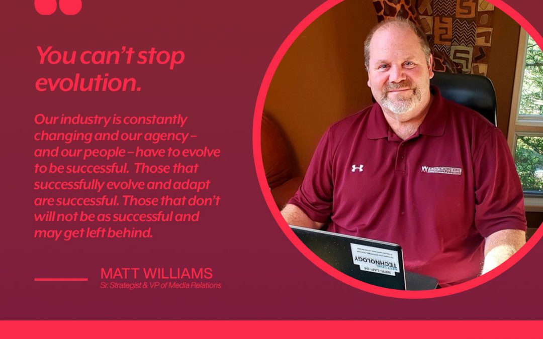 Get To Know our VP of Media Relations, Matt Williams