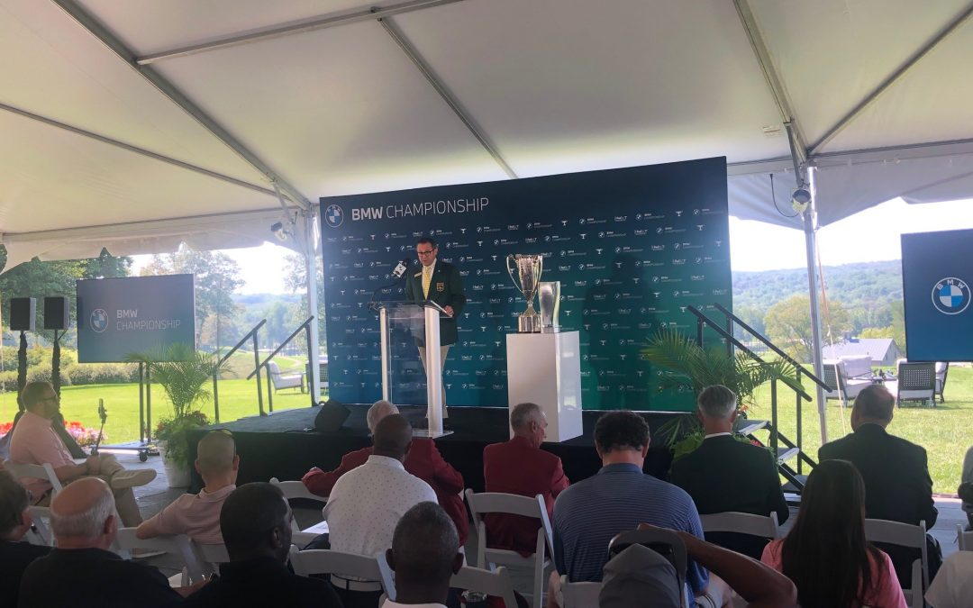 Teeing Off a Successful Media Day Event to Welcome BMW Championship to Baltimore